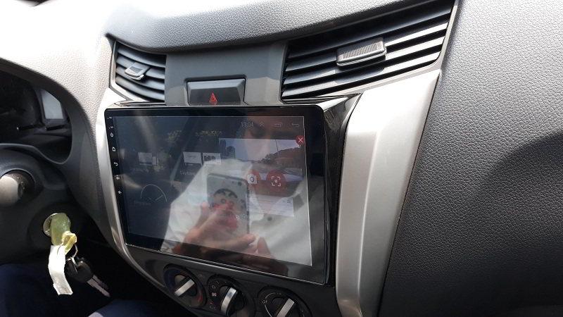 Màn hình Andoin cho xe Nissan navara