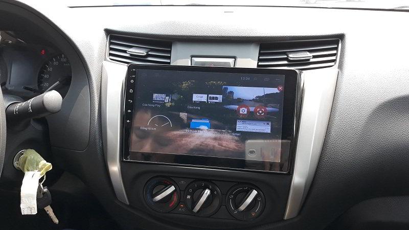 Màn hình Androin cho xe Nissan navara